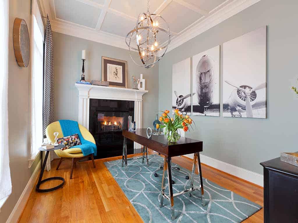 Portfolio the couture haus - Home office interior design ...